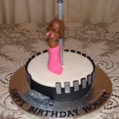 Pole Dancer Cake(15 serves)-$120