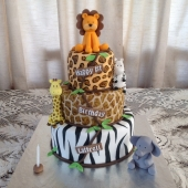 Animal Print 3 tier (50 serves) $300