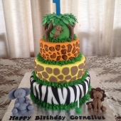 Animal Print 4 tier (85 serves) $480