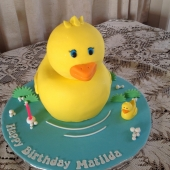 Yellow Duck Cake (30 serves) $200