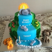 Safari Cake2 (50 serves) $300