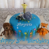 Safari Cake (30 serves) $200
