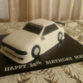 Drift Car Cake(30 serves) $200