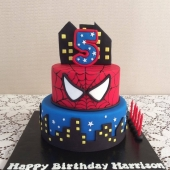 Spiderman 2 tier (40 serves) $220