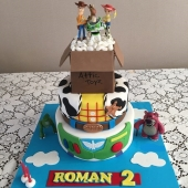 Toy Story 3 tier (50 serves) $320 toys not included