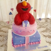 Elmo 2 tier (60 serves) $350