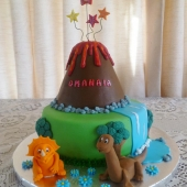 Land Before Time Cake (40 serves) $220