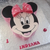 Minnie Mouse Face (40 serves) $200