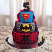 Superhero Cake (50 serves) $300