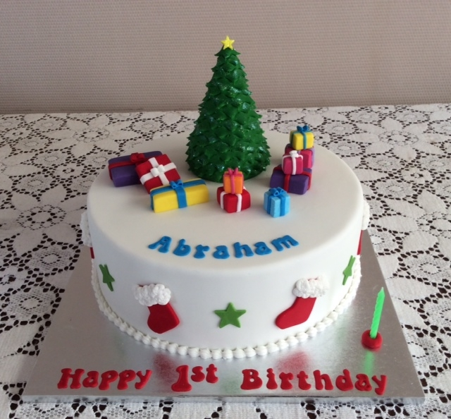 Christmas Birthday Cake.Christmas Cakes Rozzies Cakes Auckland Nz
