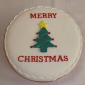 Christmas Tree Cake (15 serves) $100