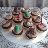 Pirate Cupcakes $70 (per dozen)