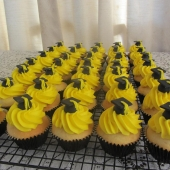 Graduation Cupcakes any colour $70 (per dozen)