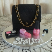 Black Chanel Bag and Makeup (30 serves) $230