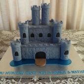 Boys Castle Cake (50 serves) $240