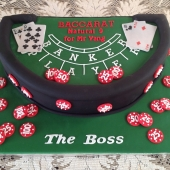 Baccarat Table (50 serves) $330