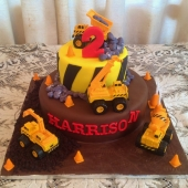 Construction Cake (50 serves) $260 toys may vary