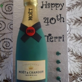 Moet Bottle (35 serves) $190