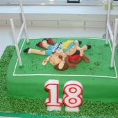 Rugby Cake (35 serves) $200