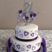 Hearts 2 tier (40 serves) $200