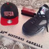 Michael Jordan Retro Shoe $200 - Bulls Cap $160 (30 serves)