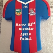 Newcastle Knights Jersey (70 serves) $350